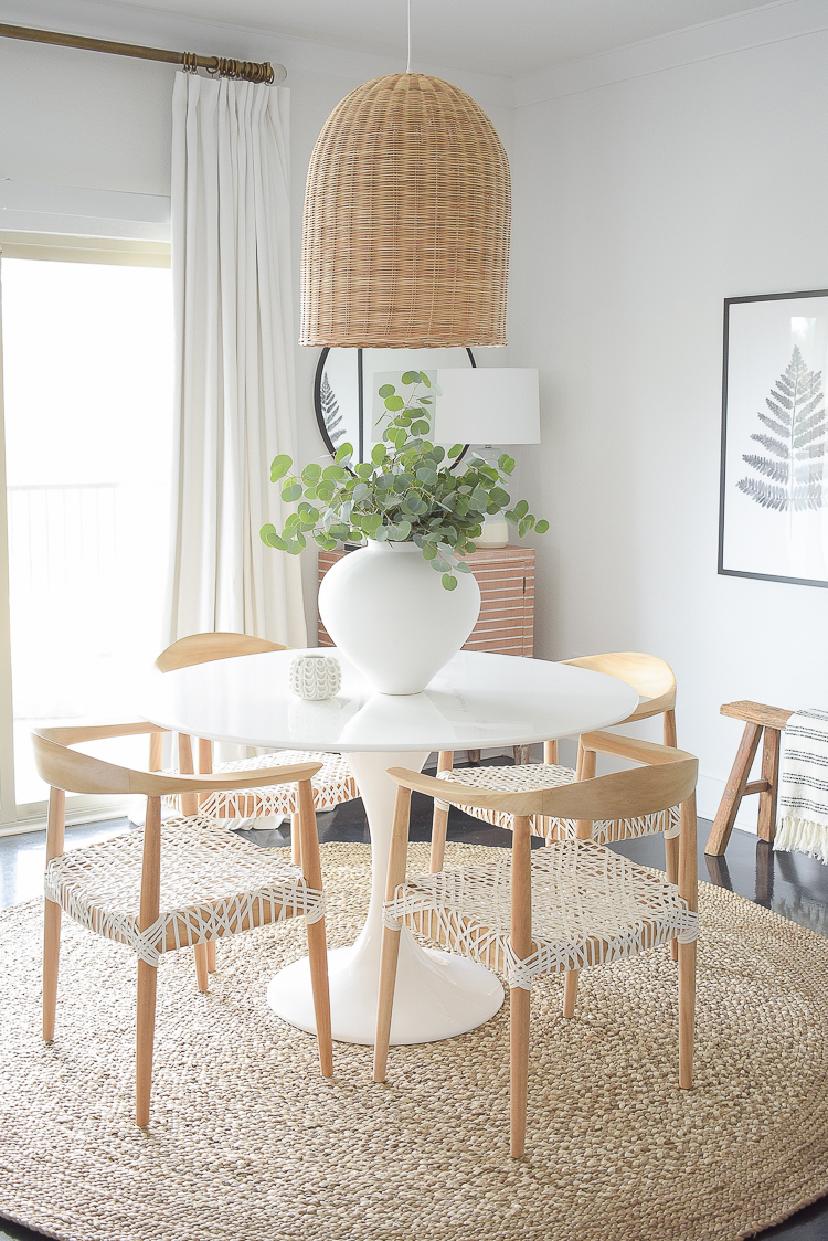 ZDesign At Home - Boho chic modern dining room reveal