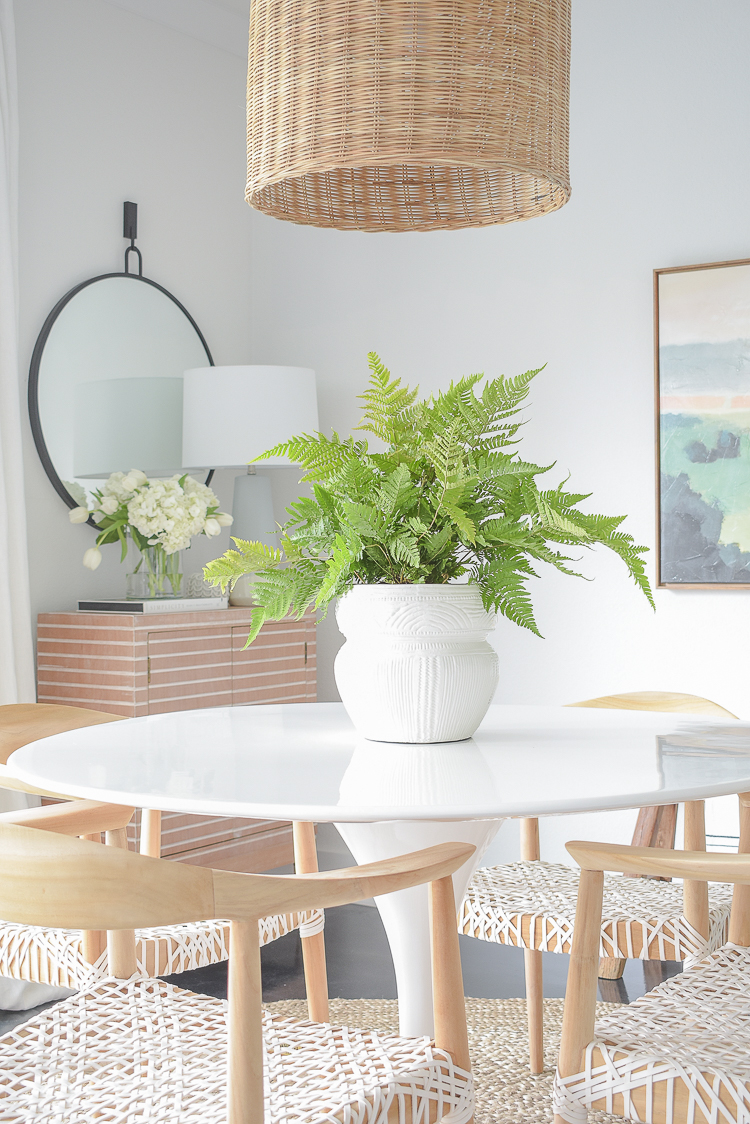 Spring Dining Room Home Tour