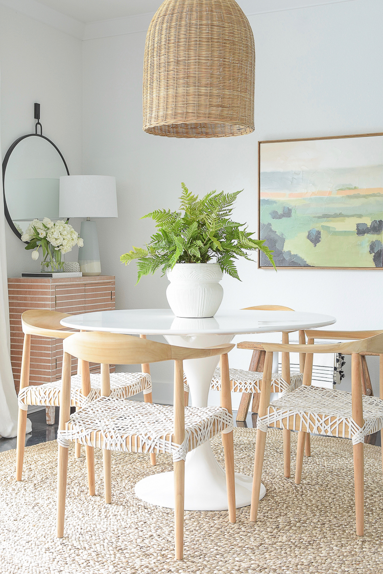 Spring Dining Room Entry Home Tour