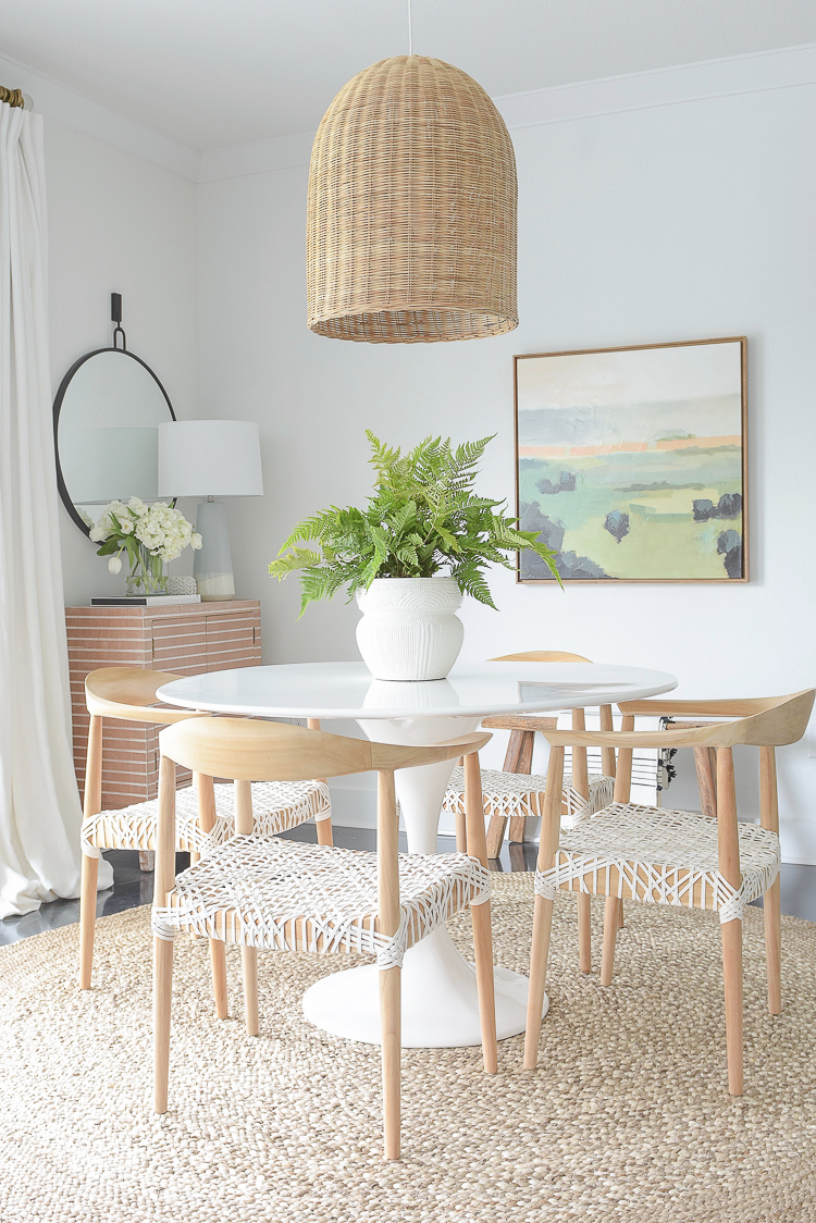 ZDesign At Home Spring Dining Room Home Tour