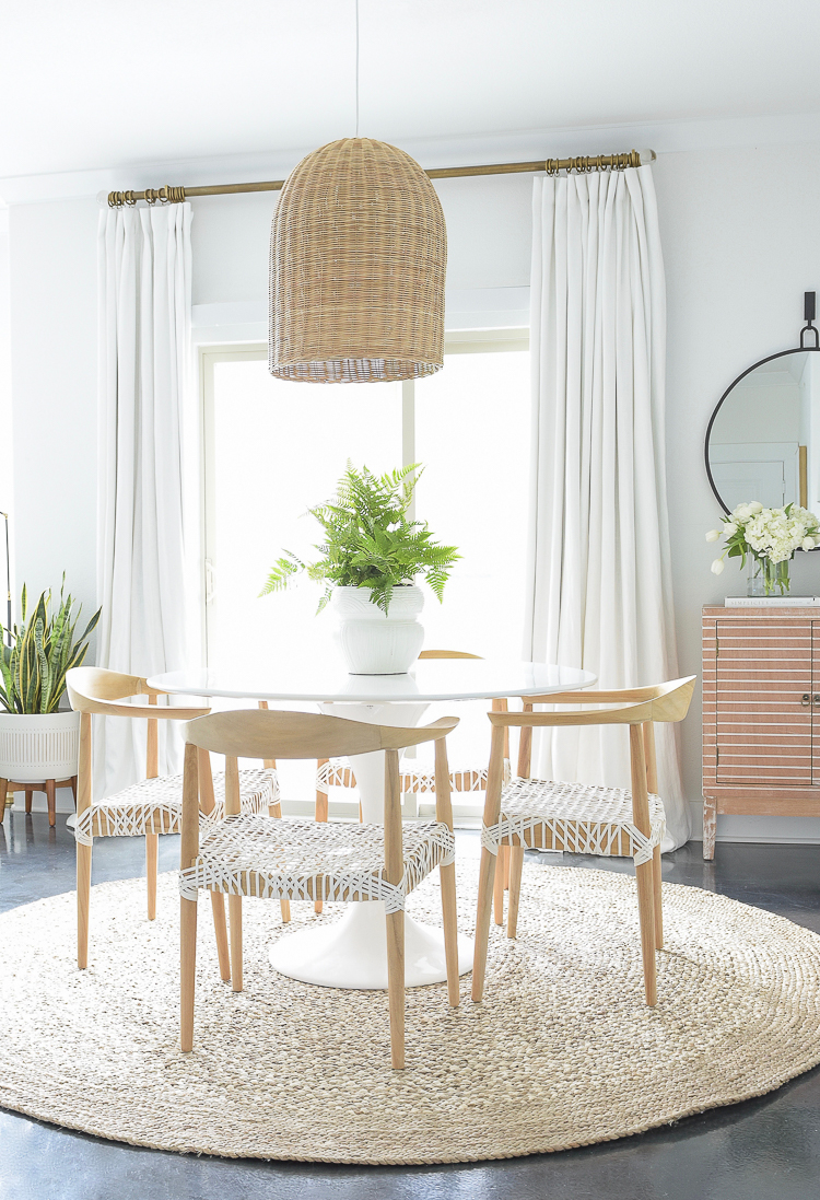 Zdesign At Home Spring Dining Room - Boho Chic Design