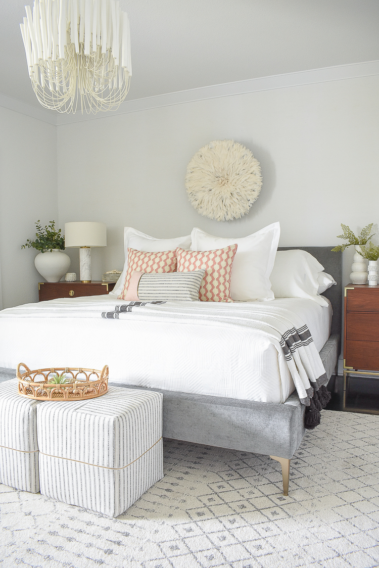 Styled for the season spring tour - Boho Chic bedroom tour