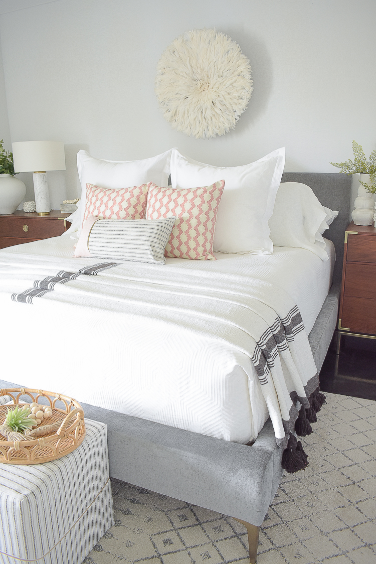 Styled for the season spring tour - boho chic bedroom