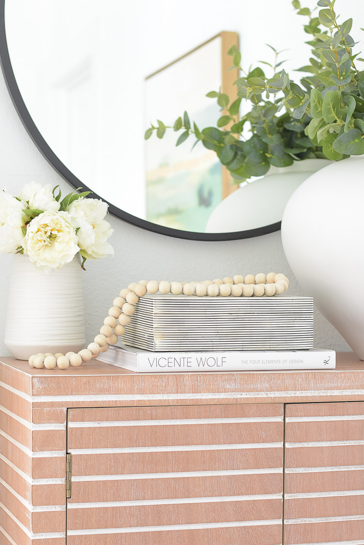 Wayfair Way Day Best Blogger Picks - Wooden beads, black white striped decorative box