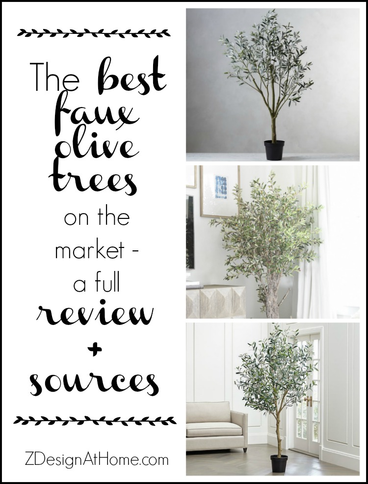 The Best Faux Olive Trees + Reviews & Sources