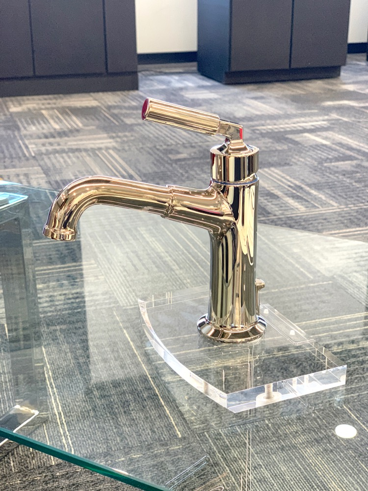 Delta Faucet Design Blogger Event - The bowery bath collection