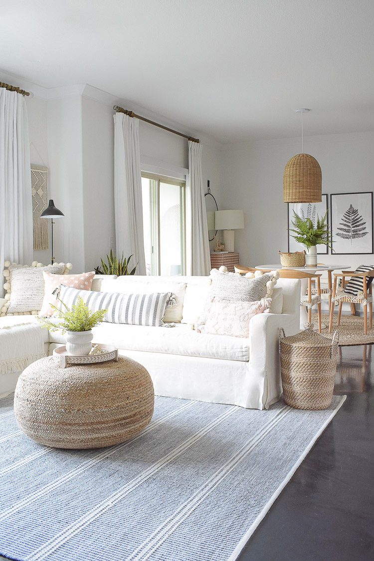 Summer Home Tour - Boho Chic Living Room Tour