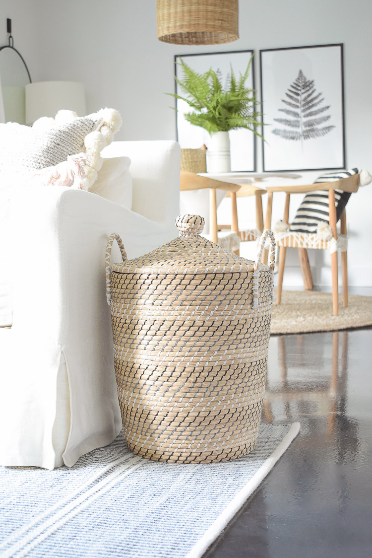 ZDesign At Home Summer Home Tour - best lidded baskets