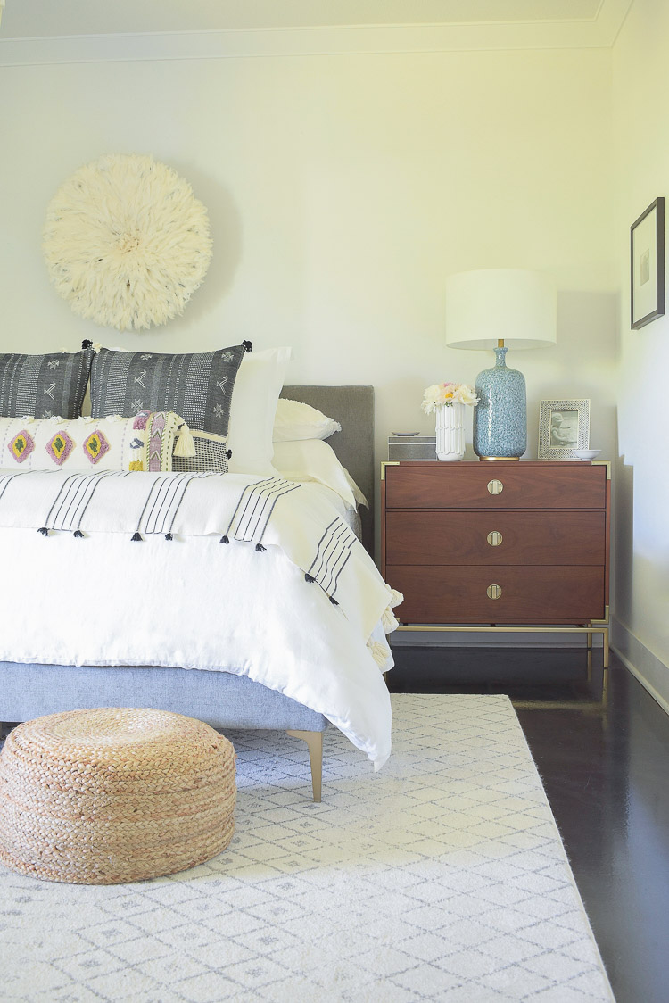 ZDesign At Home Summer Bedroom Tour - Boho Chic Bedroom design