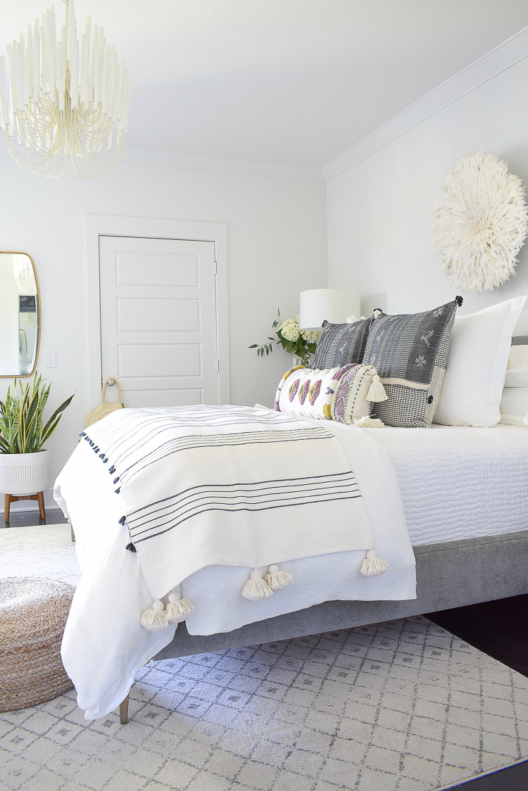 ZDesign At Home Boho Chic Summer Bedroom Tour