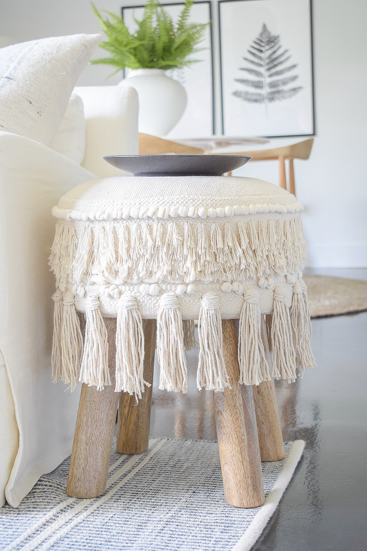 Fringe Stool - pre-black Friday sale picks
