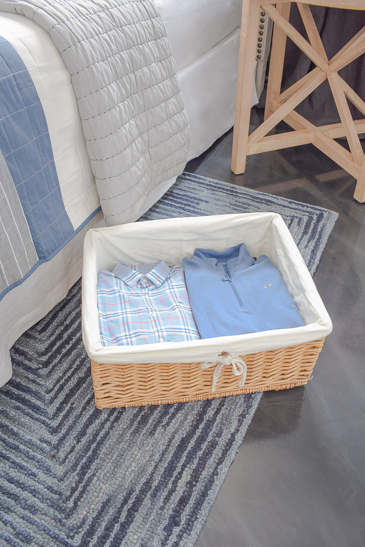 Stylish Home Decor & Organizing Ideas for Back To School - under bed storage baskets