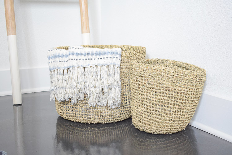 Stylish Home Decor & Organizing Ideas for Back To School - boho baskets set of 3