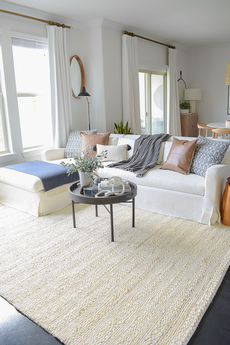 Chunky Wovens for Fall - Safavieh Natural Fiber Rug