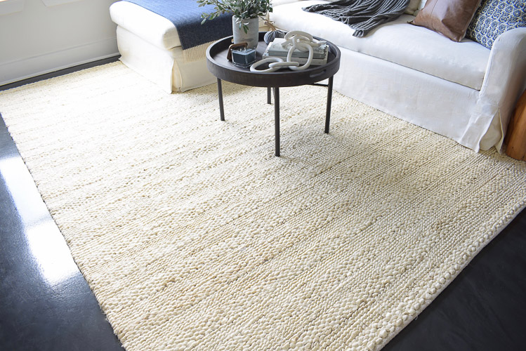 Chunky Wovens for Fall - Saffavieh natural fiber rug