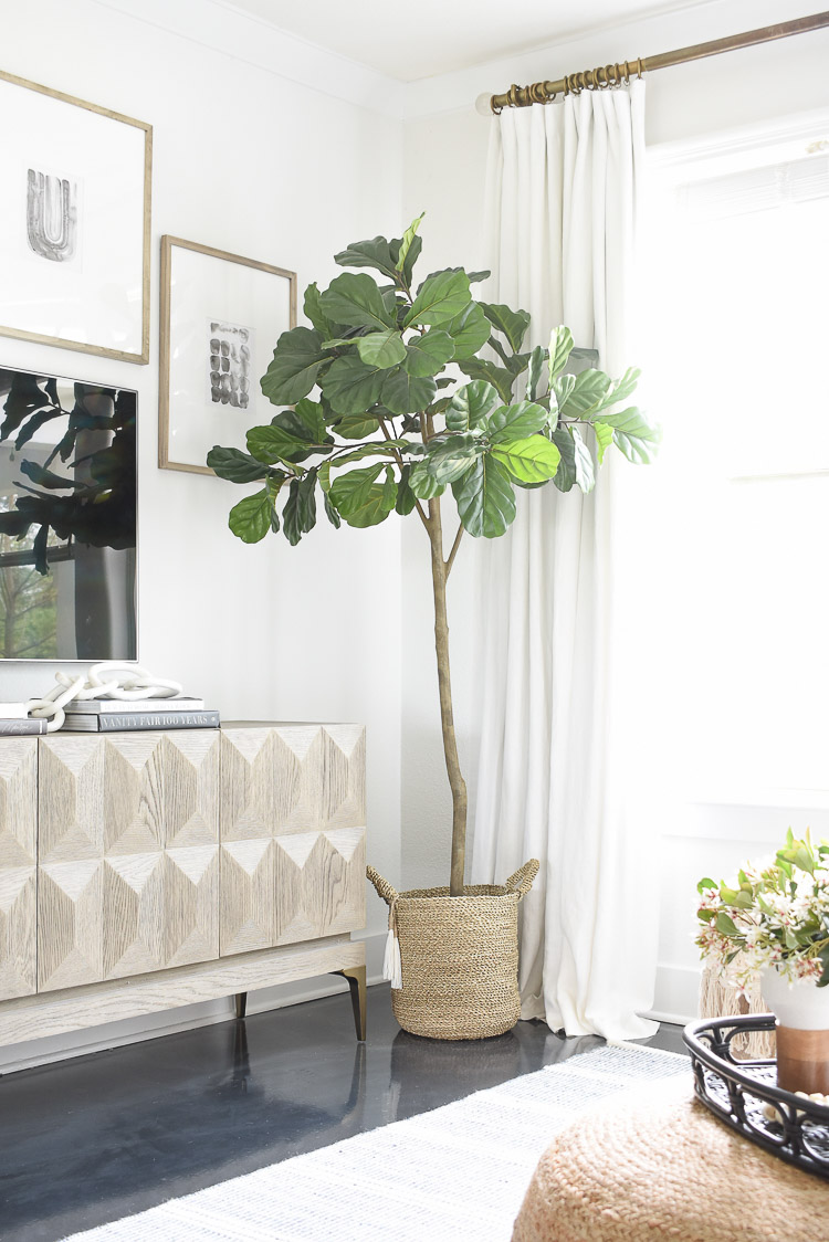 Best faux fiddle leaf fig in sprig tour