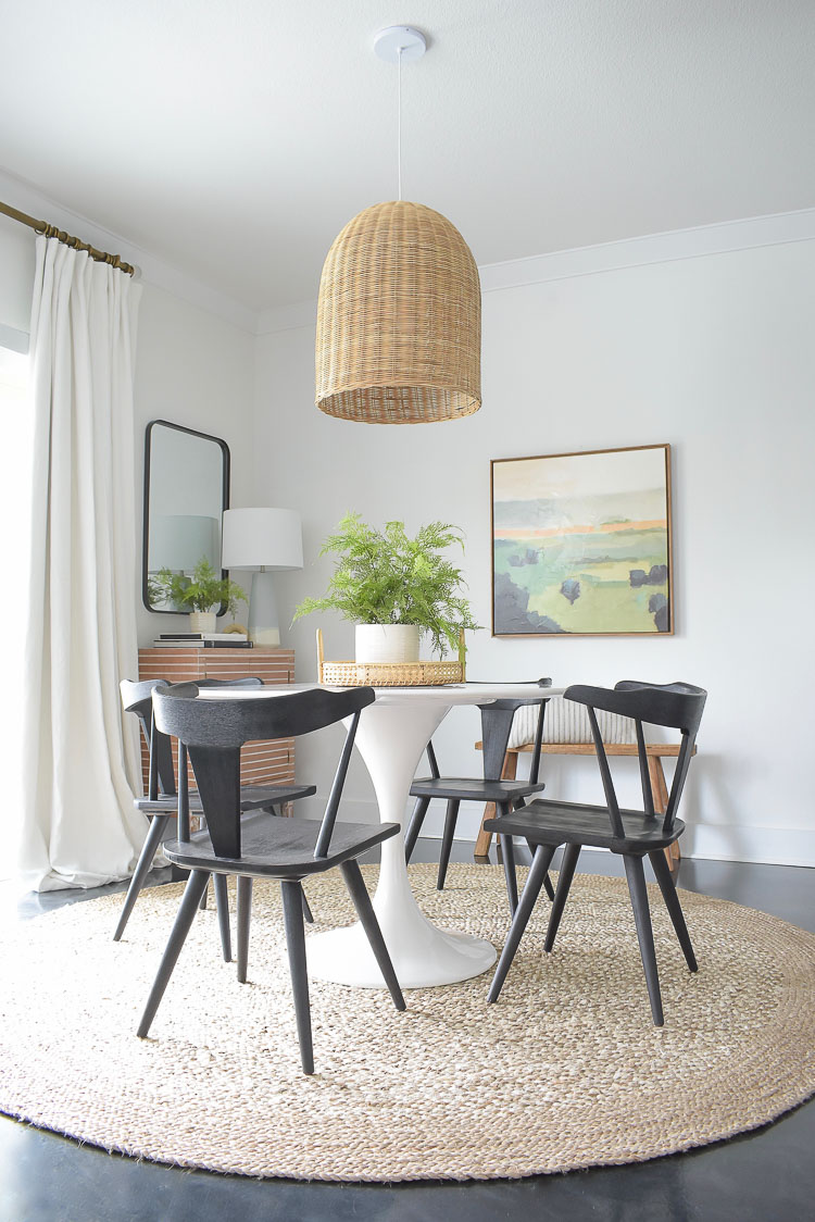 Picture of: New Black Dining Chairs Spring Dining Room Tour Zdesign At Home