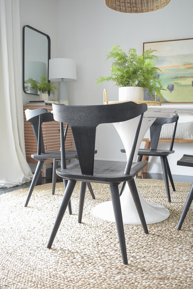 Black Farmhouse Dining Chair - Ripley, Ruthie, Westan