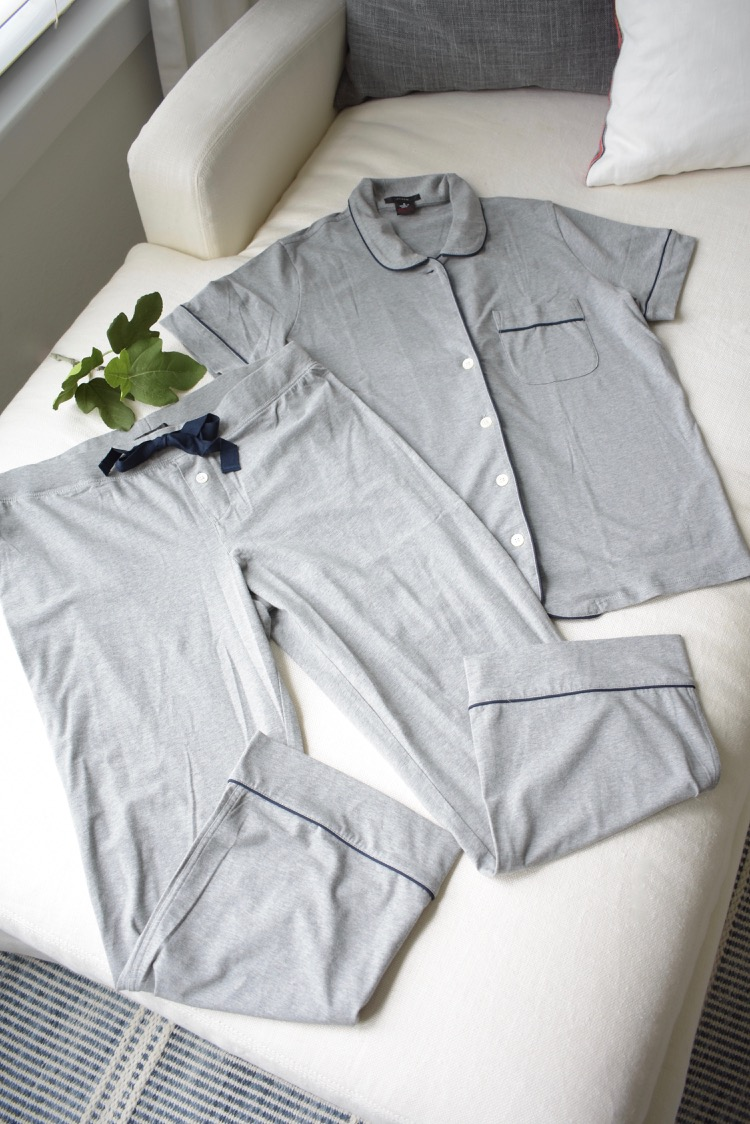 Cozy gray JCrew Pgs / loungewear
