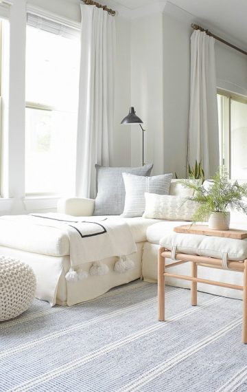 My Top 5 Summer Decorating Tips + A Airy Summer Home Tour