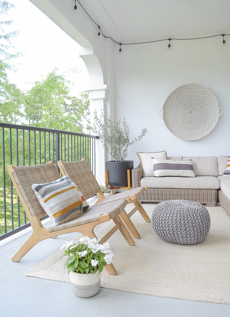 Tips for a modern outdoor stay at home patio refresh