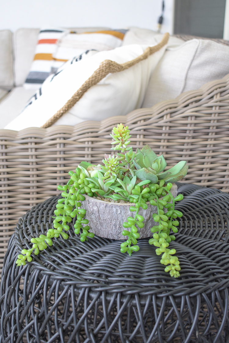 Best outdoor faux succulents