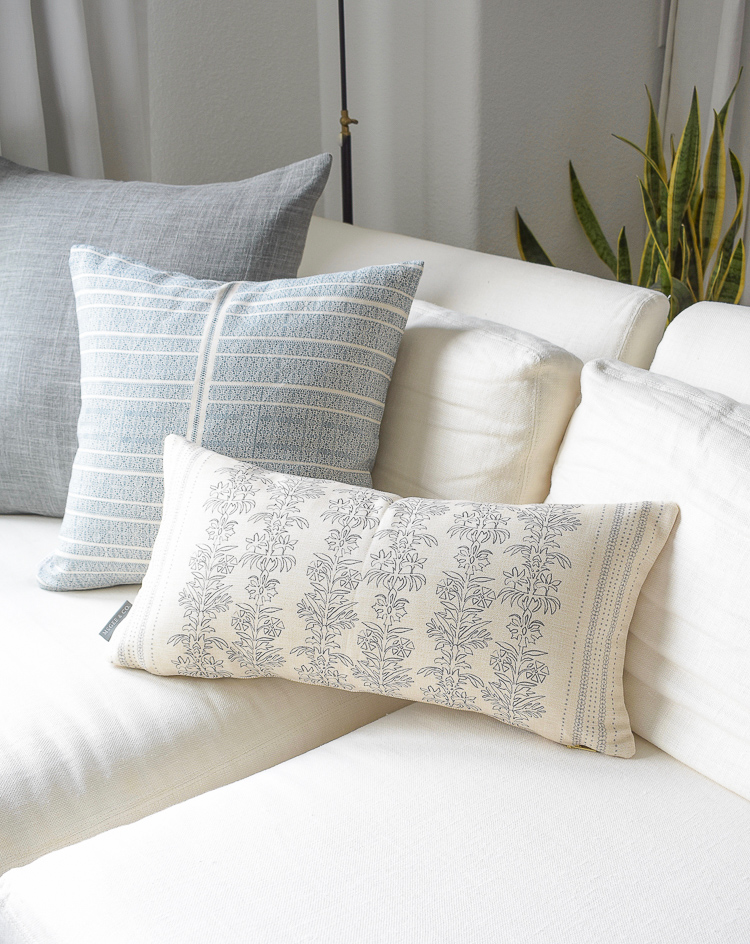 McGee & Co styled pillows + a summer home tour