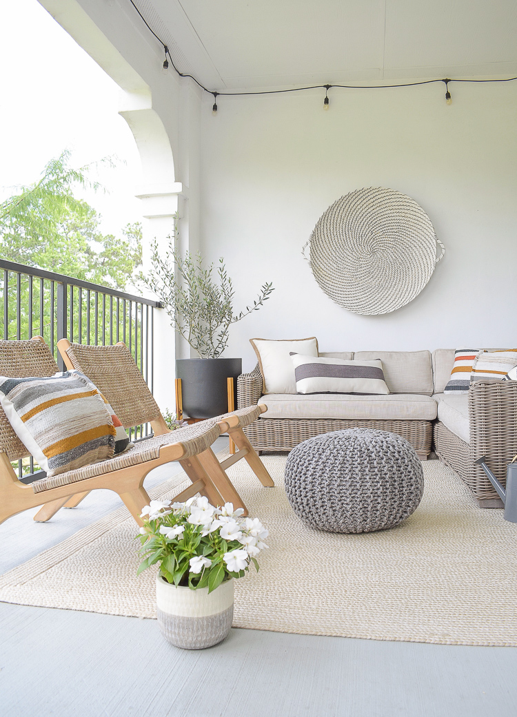 Modern Patio Refresh - Tips + Tour