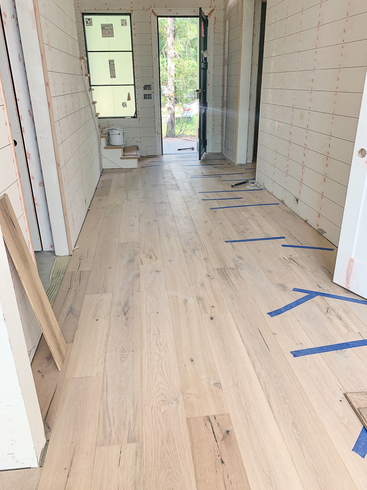 French white oak hardwood floors