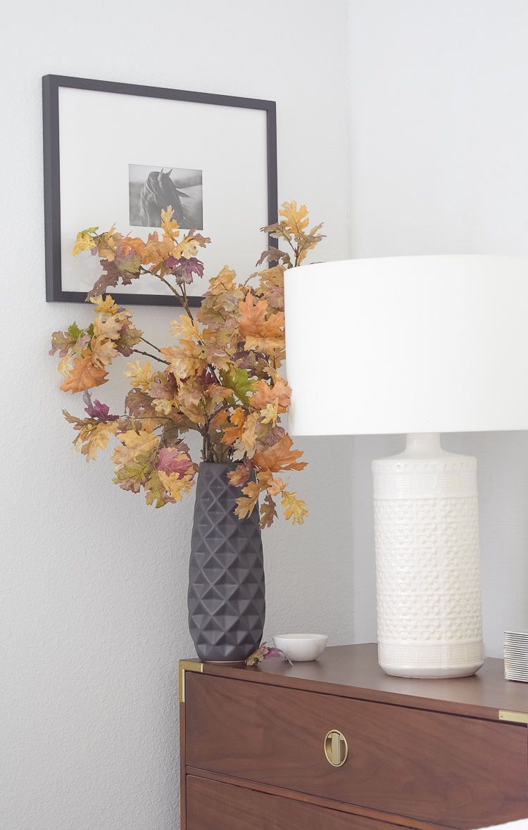 best fall branches - traditional colors in fall bedroom tour