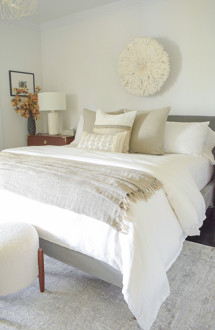 Fall bedroom decor - ZDesign At Home
