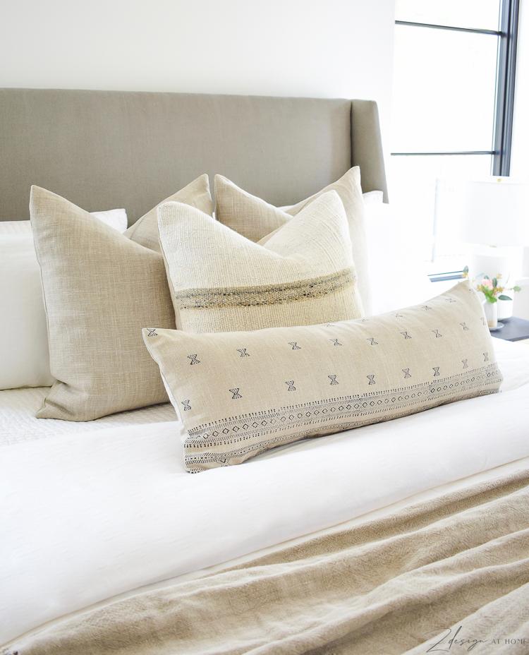 spring pillow refresh with XL lumbar