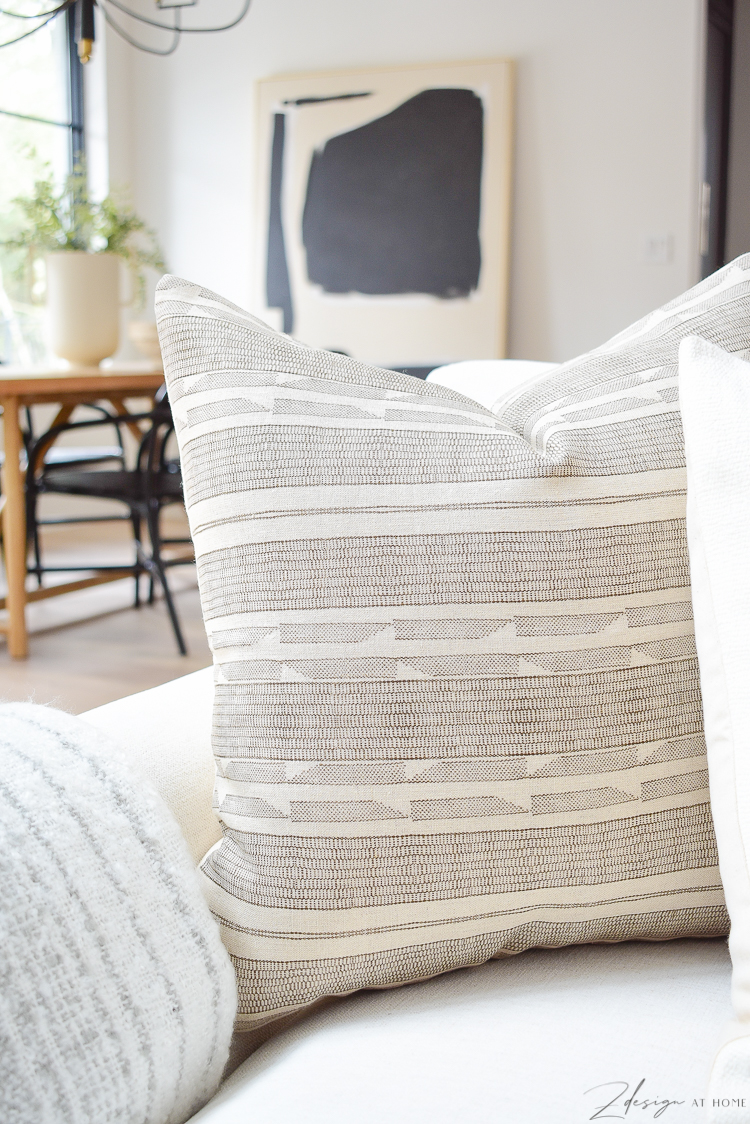 brown seville pillow in spring pillow refresh
