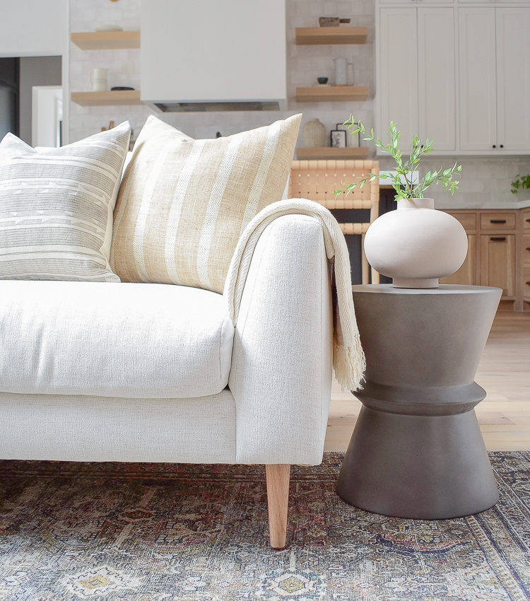 How To Style Your Sofa Pillows, Favorite New Inserts & A Review of The Hale Sofa