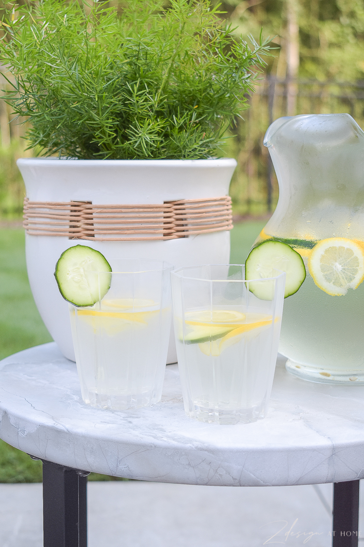 outdoor glasses entertaining pieces from walmart home