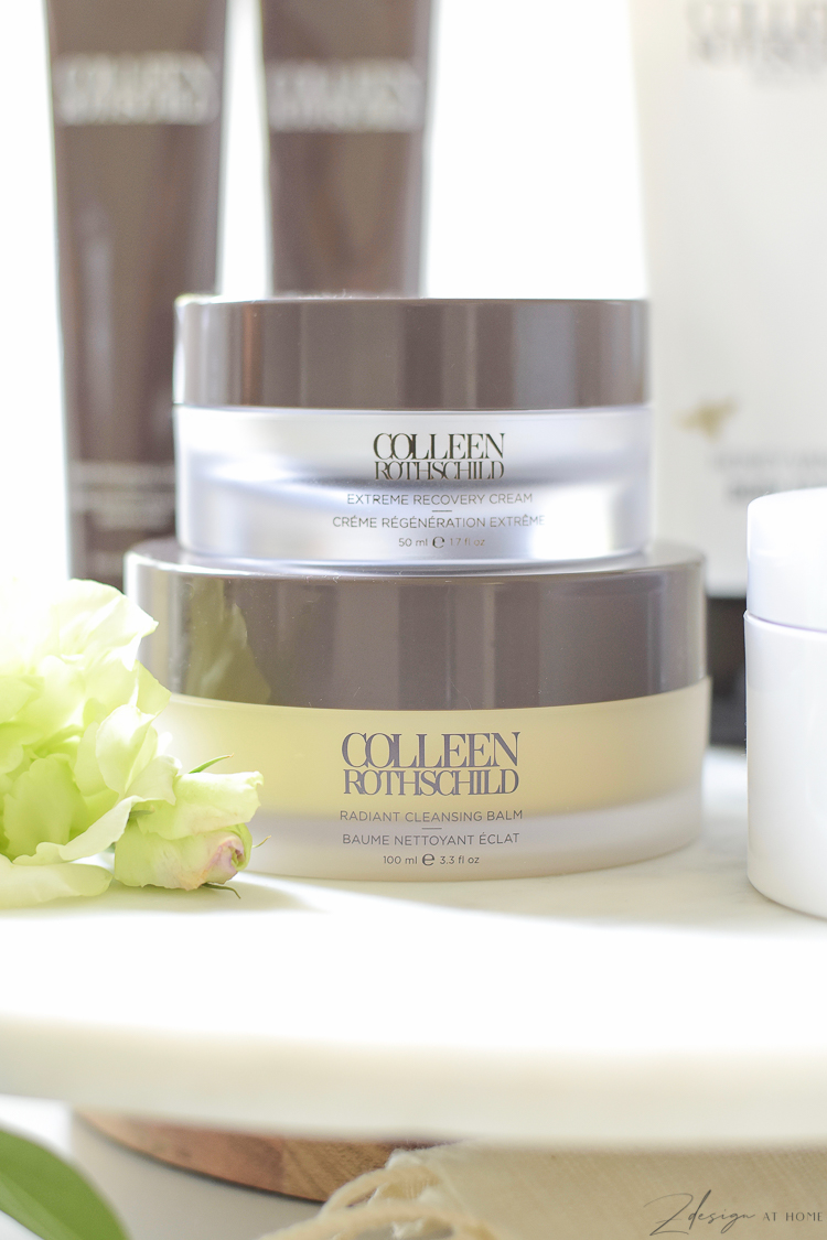Colleen Rothschild Beauty products - extreme recovery cream, radiant cleansing balm