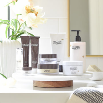 Colleen Rothschild Skin and Hair Care product review - best beauty products for any age but also for women over 40 and 50 and mature skin