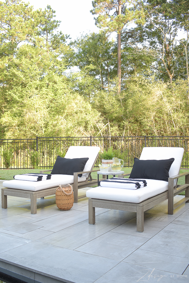 outdoor black and white decor from walmart home