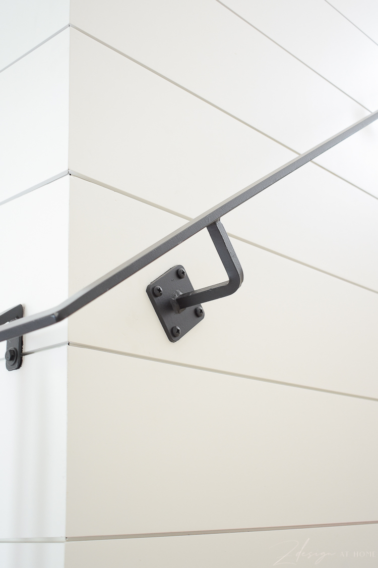 square hand rail bracket for stairs