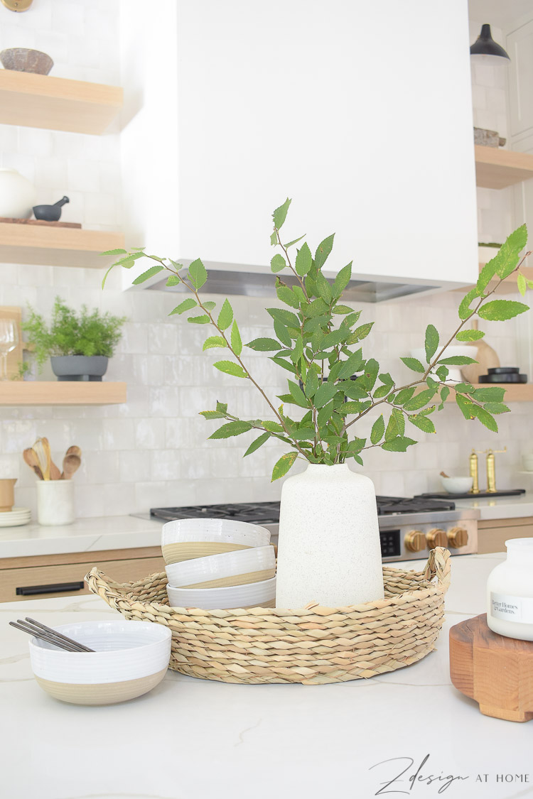 how to style your kitchen island with walmart home decor