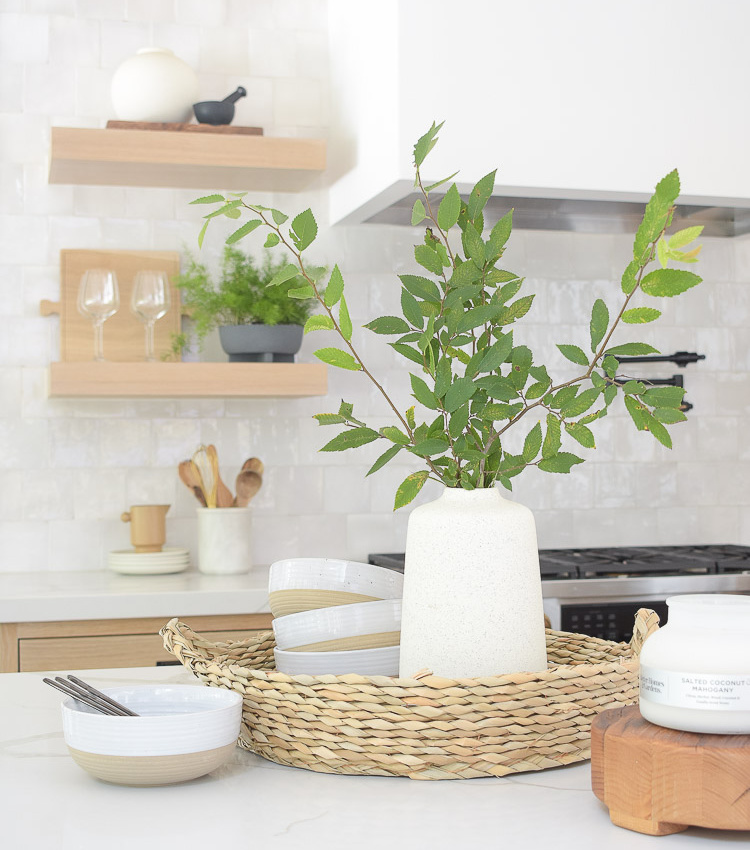 Summer Home Style in the Kitchen