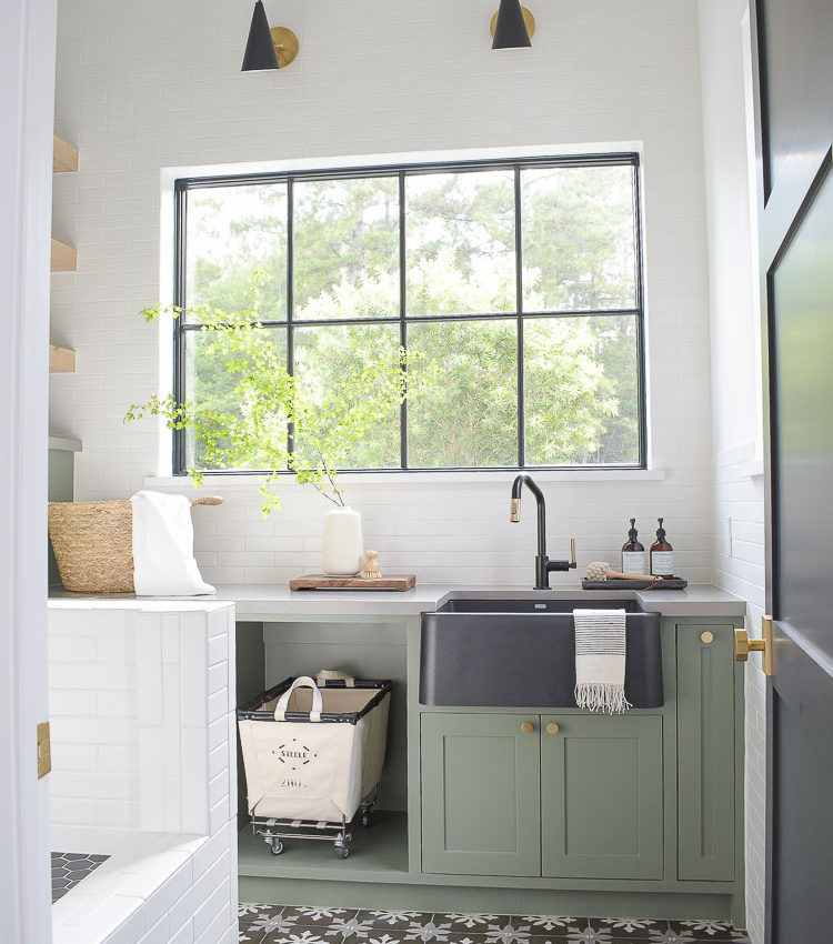 Laundry Room Reveal & Tour