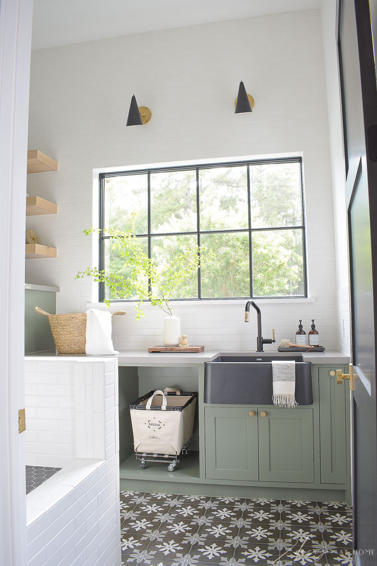 beautiful laundry room decorated and functional beautiful