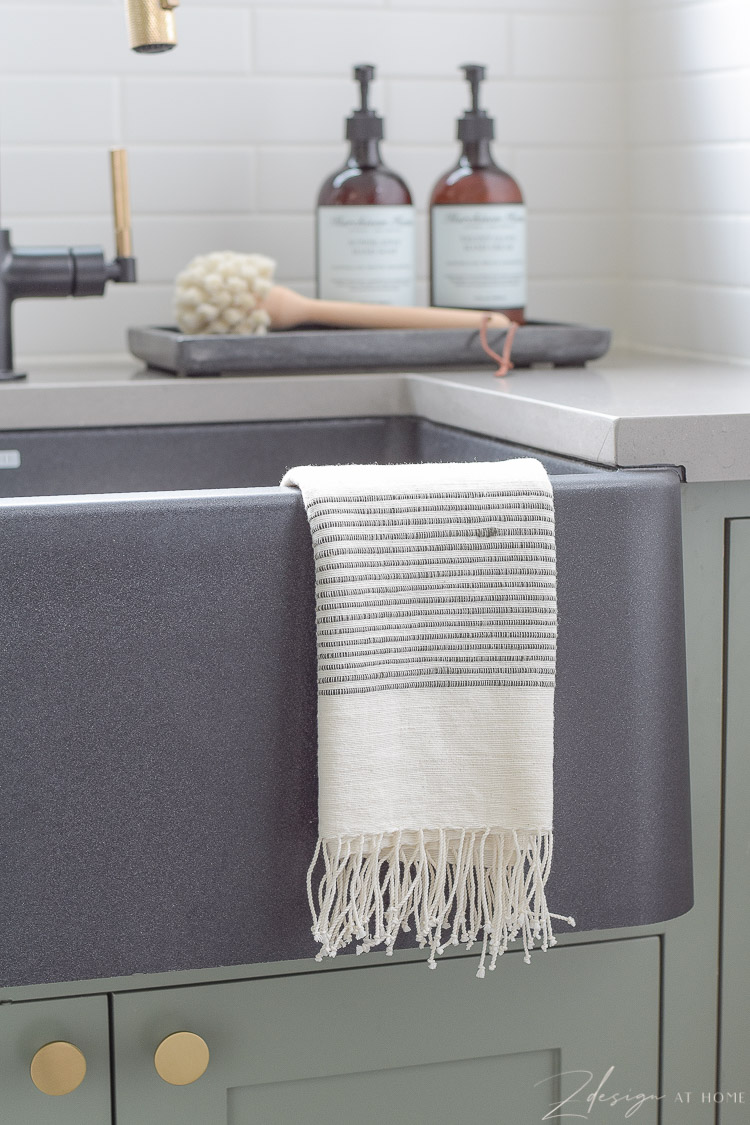 fringe hand towel - mcgee and co