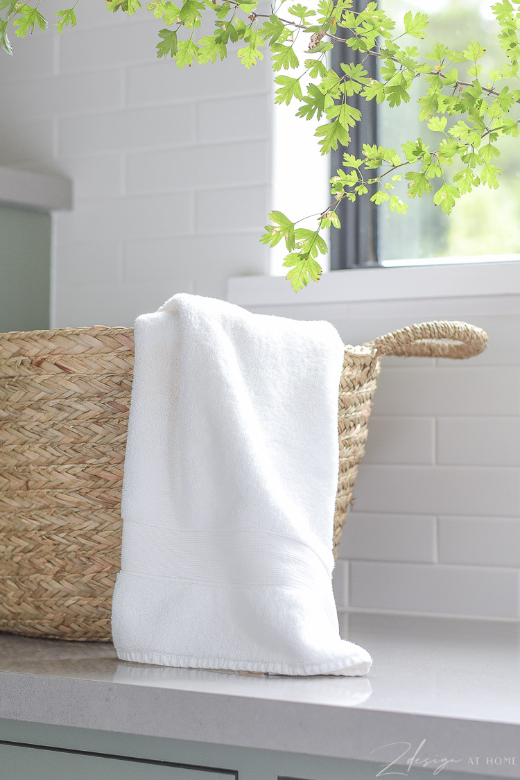 pottery barn organic white cotton towels - best hand and bath towels