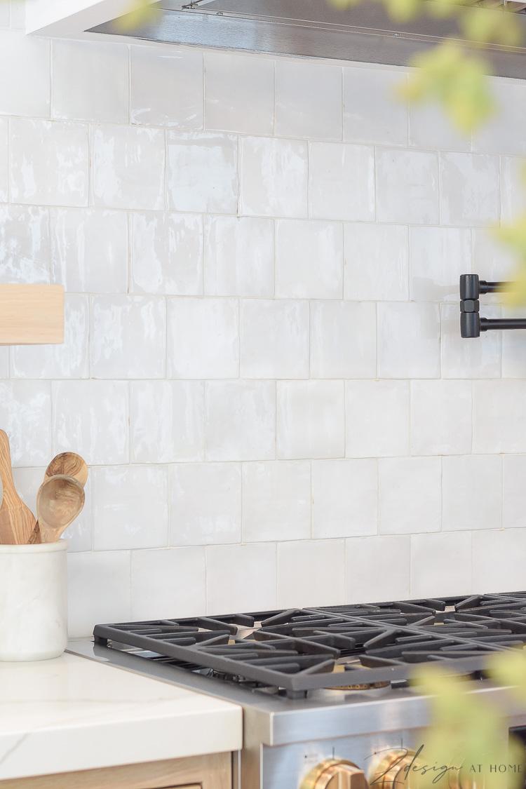 white knock off zellige tile 5x5