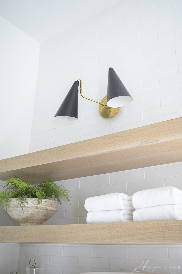 clement double sconce