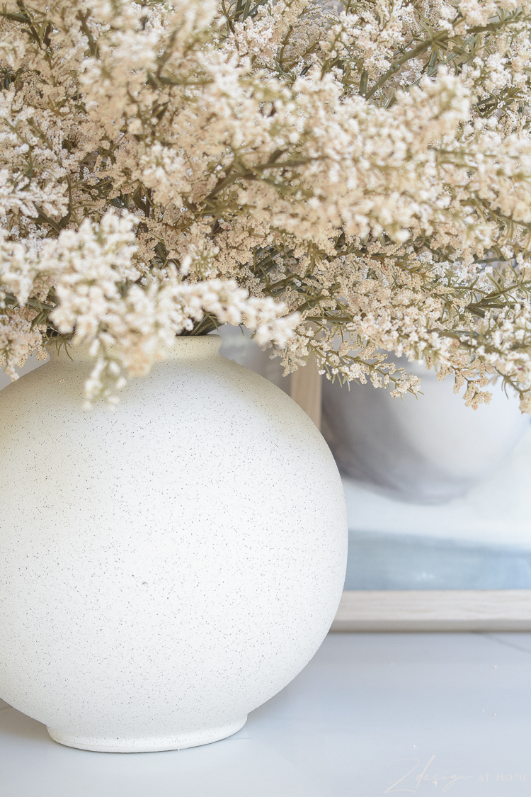 white speckled modern bubble lamp