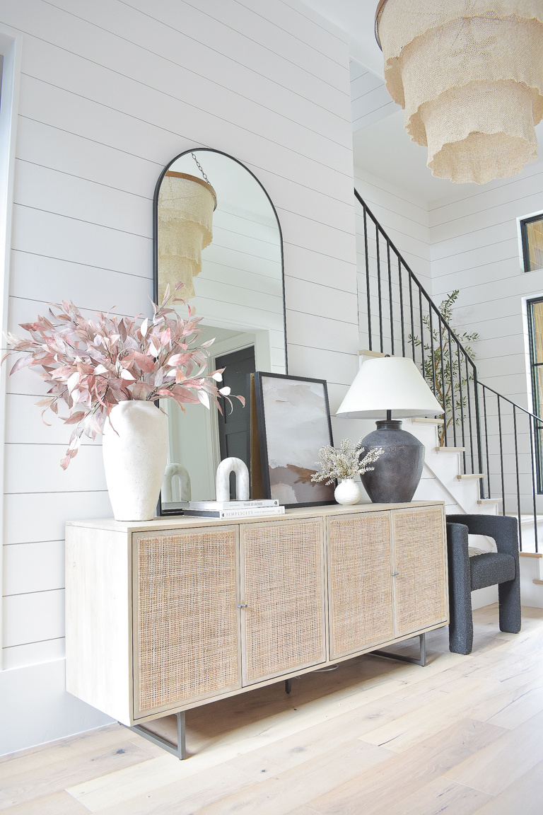 Fall Entryway & Living Room Updates